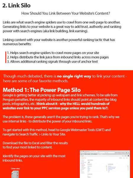 How to Create Proper Website Silos for SEO Infographic