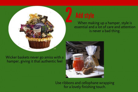 How To Create The Perfect Christmas Hamper  Infographic