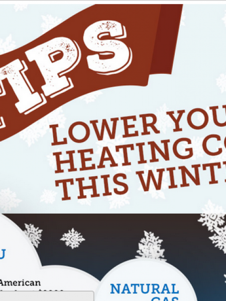 How to Cut Heating Costs This Winter Infographic