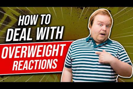 How to Deal With Overweight Reactions Infographic