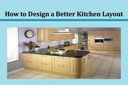 How to Design a Better Kitchen Layout Infographic