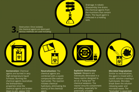 How To Dismantle a Chemical Weapon Infographic