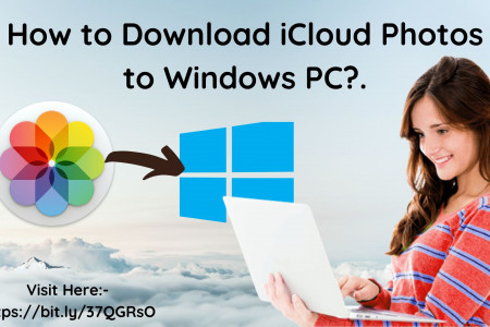 How to Download iCloud Photos to Windows PC? Infographic