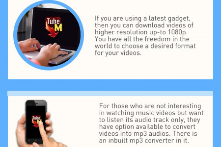 How To Download YouTube Videos On Your Android Devices Using TubeMate 2017 Infographic