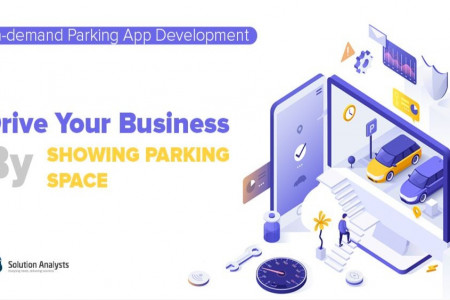 How to Drive Business Growth through Parking App Development Infographic