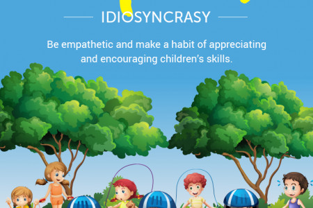 How to Embrace Children's Individuality. Infographic