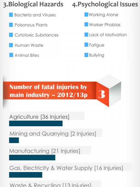 How to Ensure Safety at Workplace Infographic