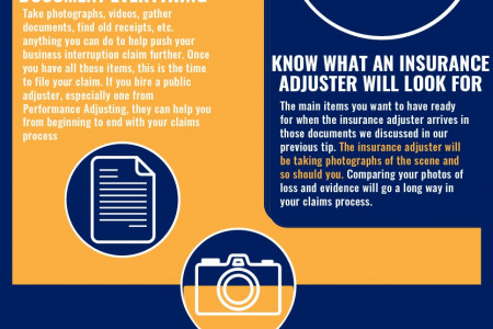 How to File a Business Interruption Claim in RI Infographic