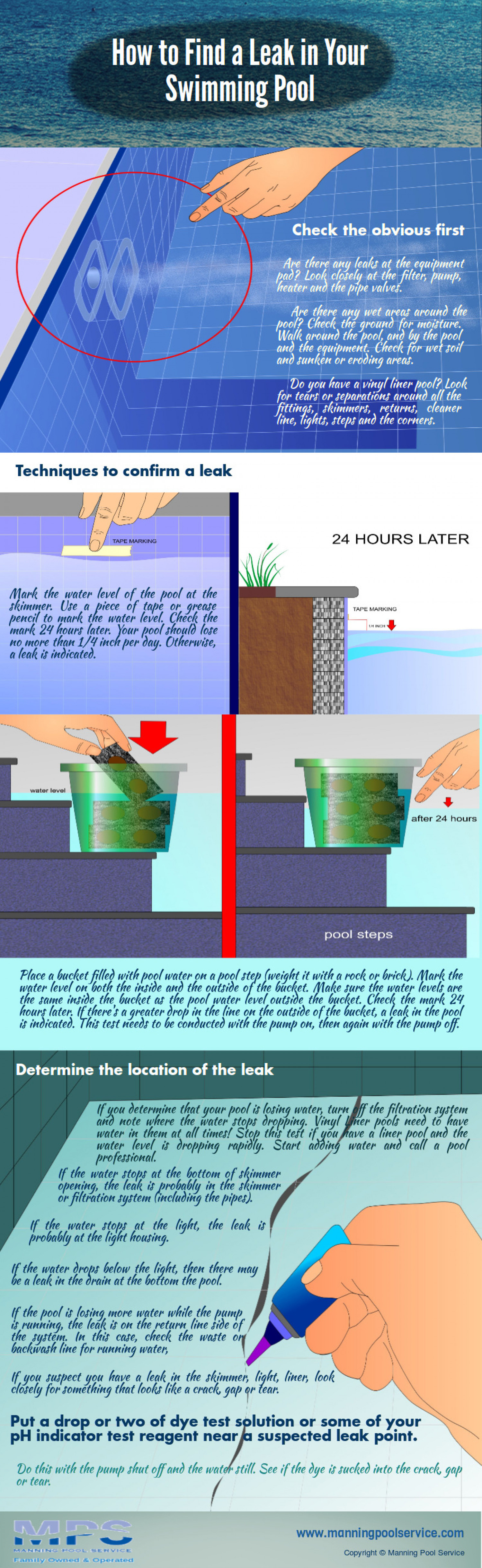 How To Find A Leak In Your Swimming Pool