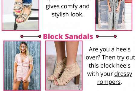 How to Find Best Match Shoes for Your Outfits - Southern Honey Boutique Infographic