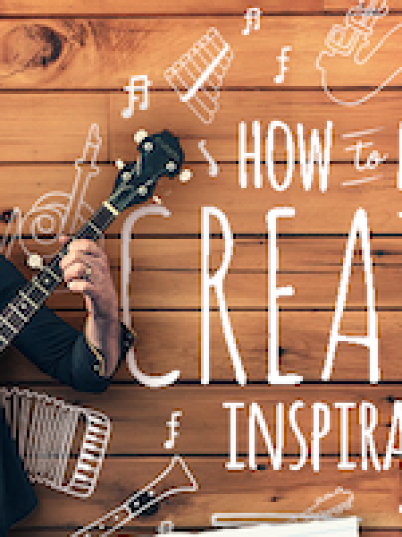 How to Find Creative Inspiration Infographic
