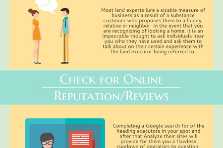 How To Find Reliable Real Estate Agents Infographic