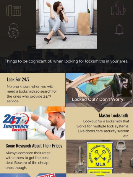 How to find the best locksmith in your area Infographic