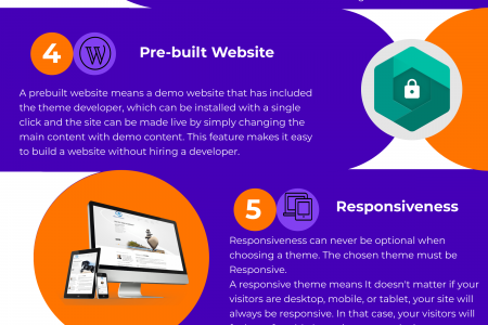 How to Find the Best WordPress theme like a pro Infographic
