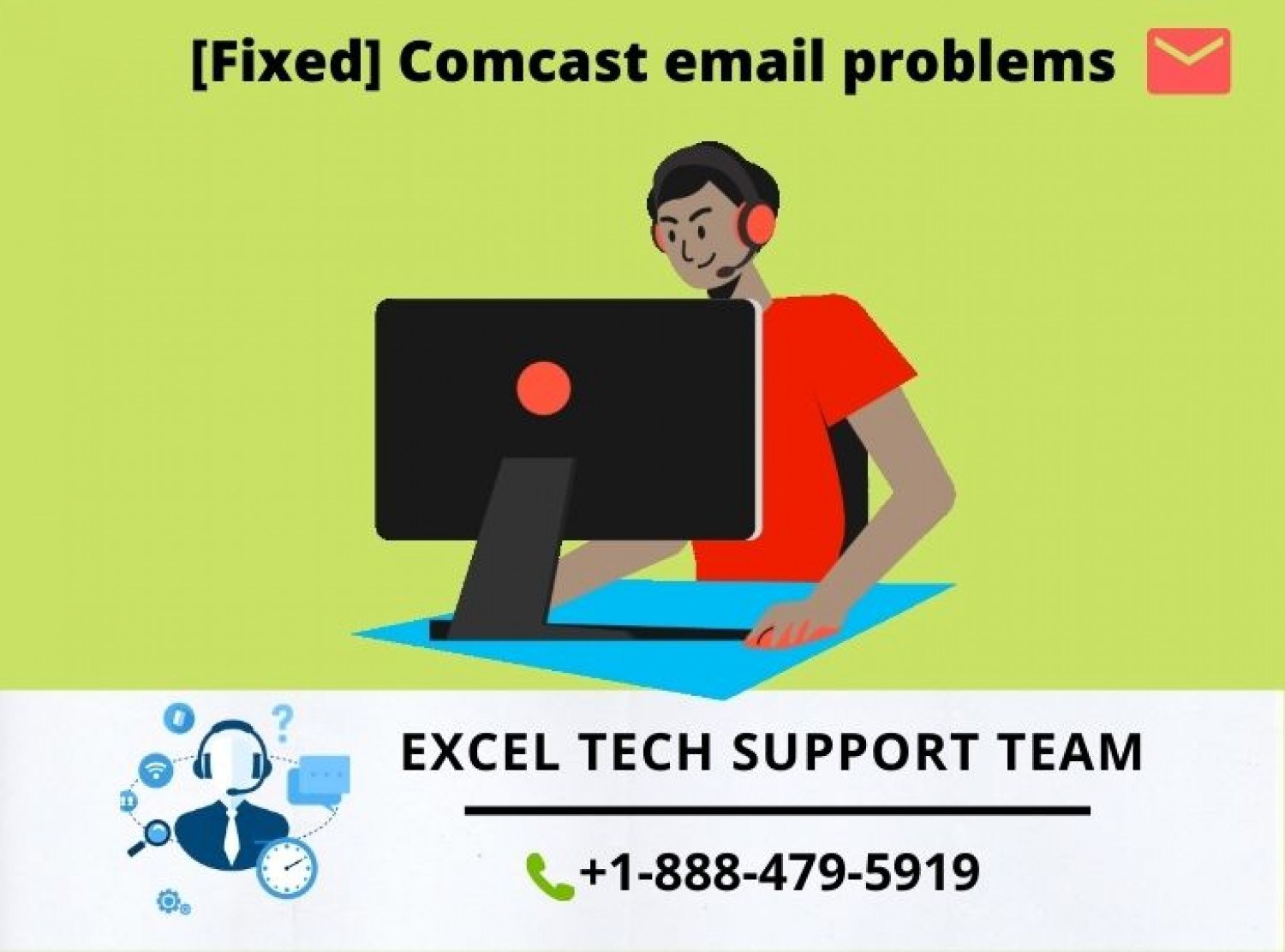 How to fix the Comcast Email problems ? Infographic