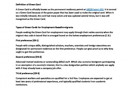 How to Get a Green Card to Work in the U.S Infographic