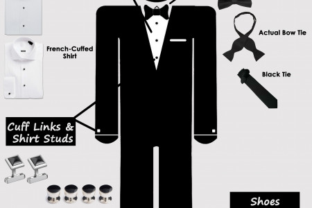 How To Get Killing Looks Through Tuxedo Infographic