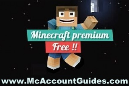 How To Get Minecraft Premium Account for Free - www.McAccountGuides.com Infographic