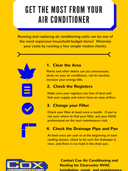 How to Get More From Your Air Conditioner Infographic