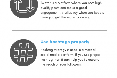 How to get Twitter Followers in 2019 Infographic