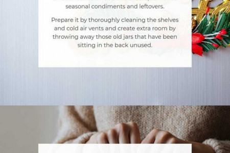 How to Get Your Kitchen Ready for Christmas Infographic