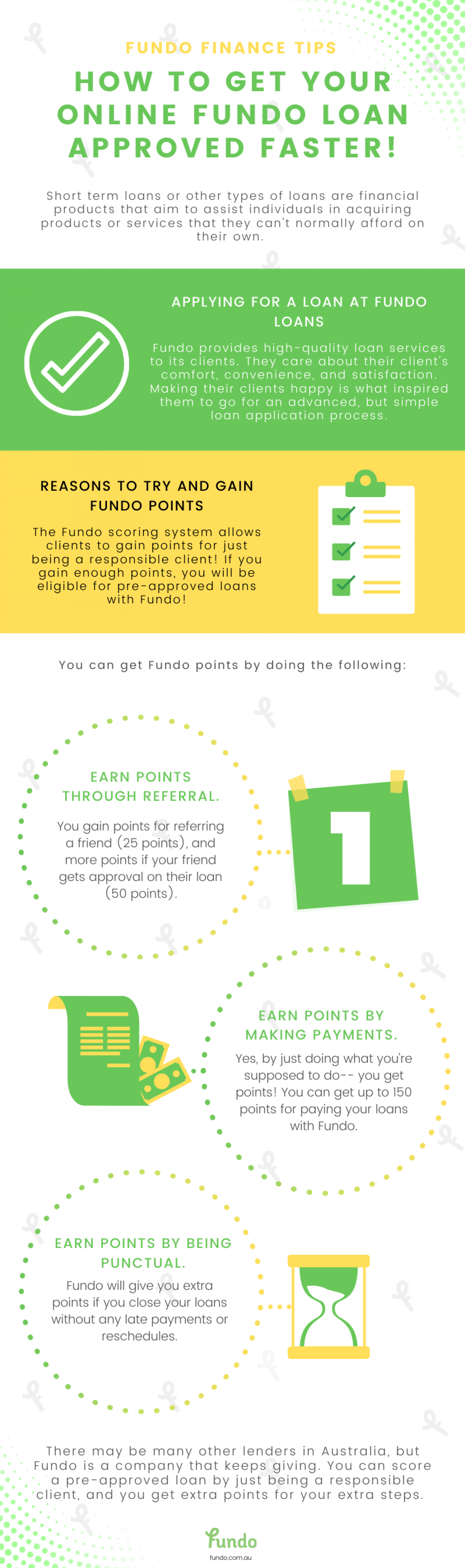 How to Get Your Online Fundo Loan Approved Faster! Infographic