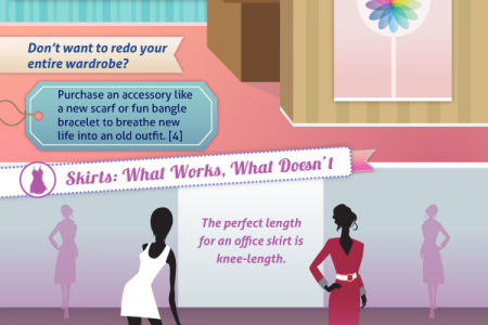 How To Glitz Boring Winter Attire For Professionals Infographic