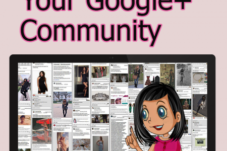 How to Grow Your Google+ Community Infographic