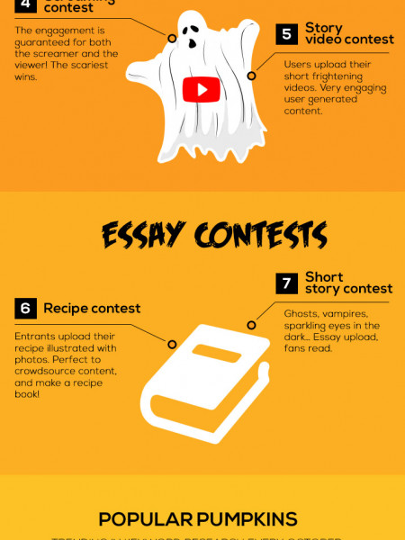 Halloween Facebook Marketing  Infographic