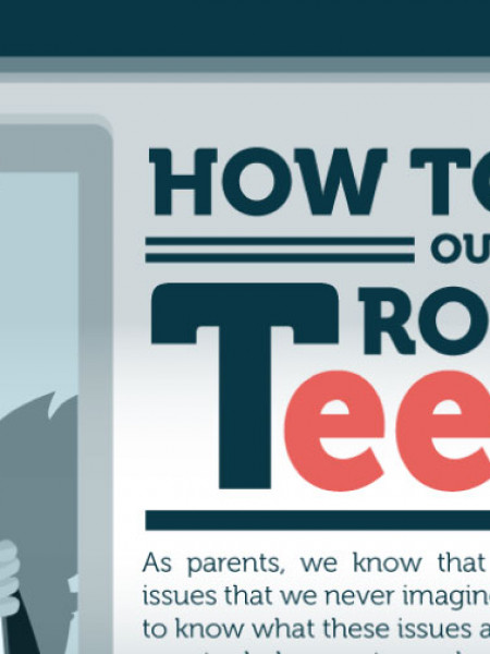 How to Help Our Troubled Teens  Infographic