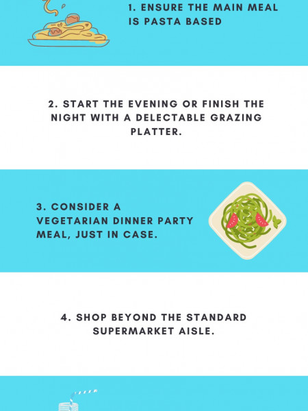 How to Impress Your Dinner Party Guests: 5 Secrets! Infographic