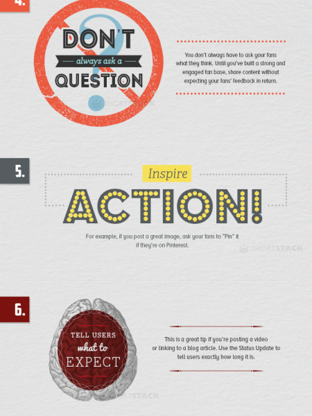 How to improve social media updates? Infographic