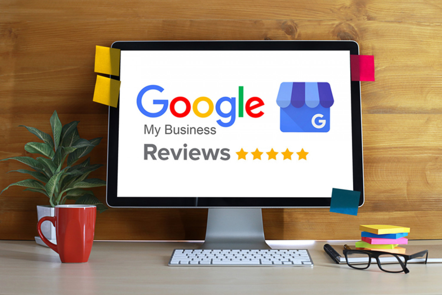 How to Improve Your Business with Google My Business & Google Reviews Infographic