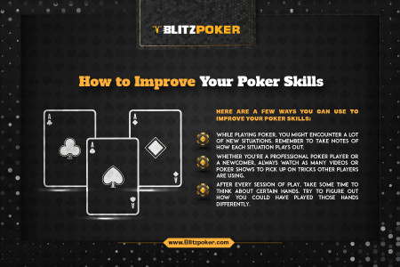 How To Improve Your Poker Skills Infographic