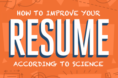 How to Improve Your Resume According to Science Infographic