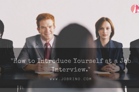 How to introduce yourself at a job Interview: 10 Awesome Tips. Infographic