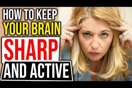 How to Keep Your Brain Sharp and Active Infographic