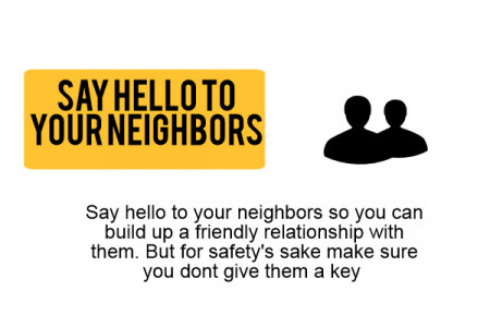 How to keep your home a safe place Infographic