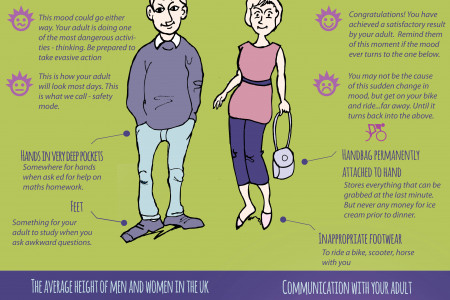 How to maintain your adult - General adult anatomy Infographic