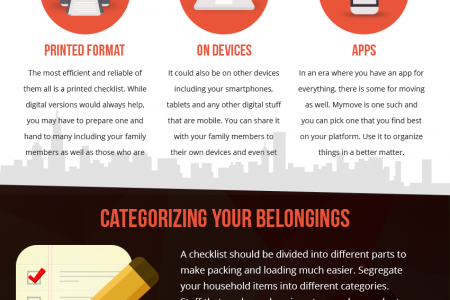 How to Make a Moving Checklist Infographic