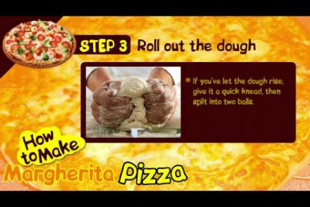How To Make Margherita Pizza Infographic