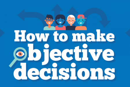 How to Make Objective Decisions Infographic