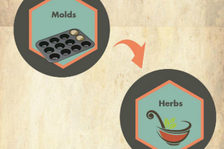 How to Make Organic Soap from Scratch Infographic
