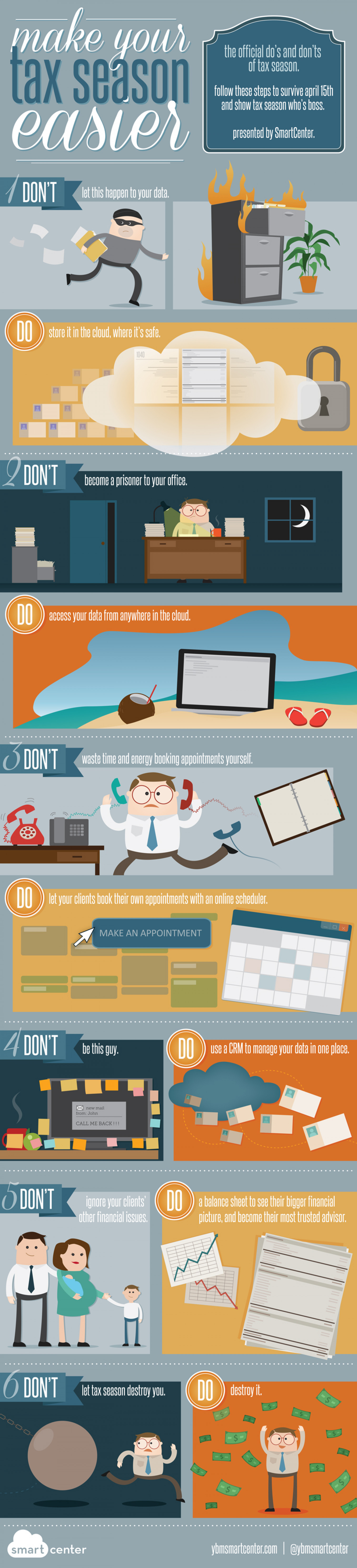 Make Your Tax Season Easier Infographic