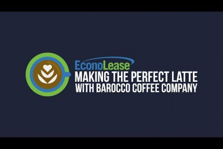How to Make the Perfect Latte With Barocco Coffee Company - Econolease Infographic