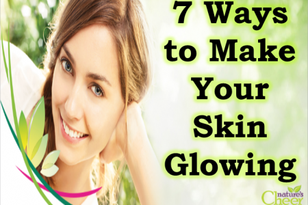 How to Make Your Skin Glowing Naturally Infographic