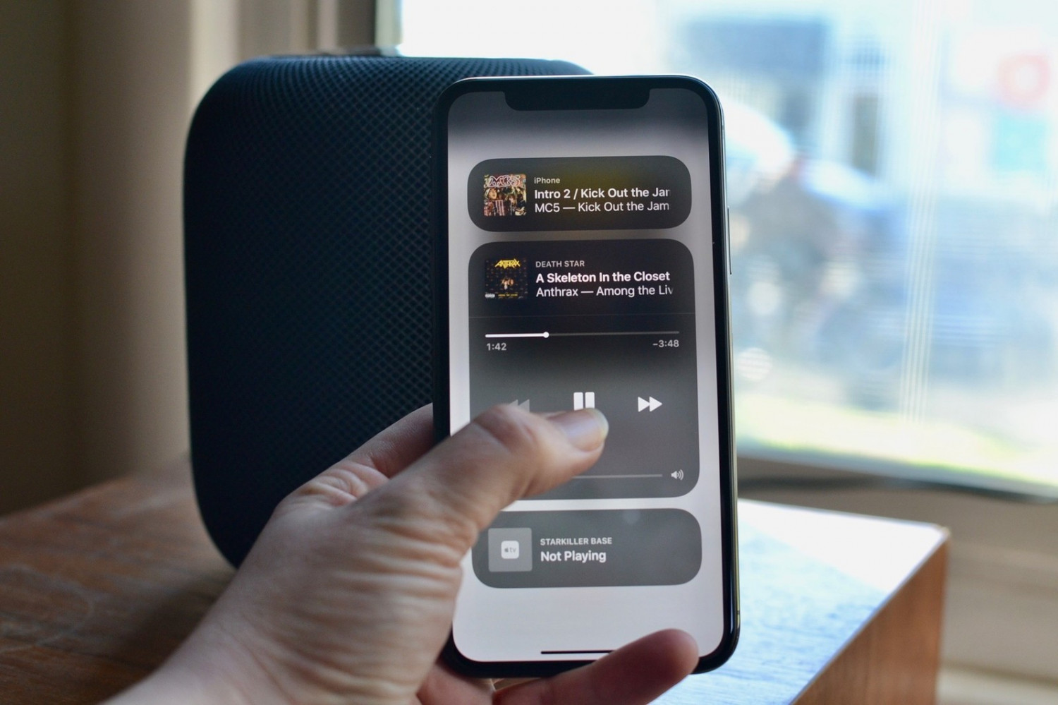 How to Manage HomePod on iPhone or iPad? Infographic