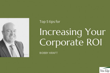 How to Maximize the corporate ROI by Bobby Kraft Infographic
