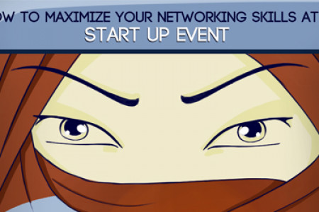 How to maximize your networking skills at a start up event Infographic