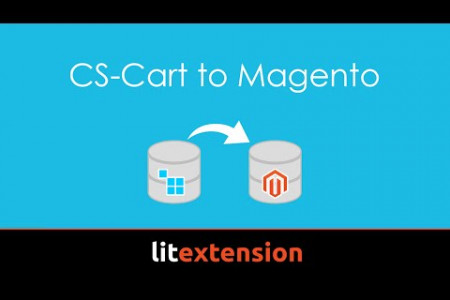 How to migrate from CS-Cart to Magento with LitExtension Infographic